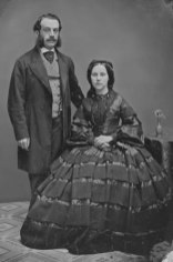 1858 June 1st wedding Thomas Sands Johnson and Matgaret Jane Corlett