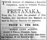 1905 Feb 3rd Allen & Neale Pretanaka