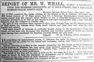 1891 Oct 10th Ibberson