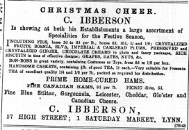1896 Dec 11th C Ibberson @ No 57