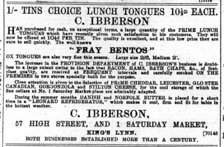 1896 Oct 3rd C Ibberson @ No 57