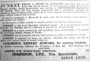 1901 Aug 23rd Ibberson Junket