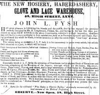 1850 April 13th John L Fysh