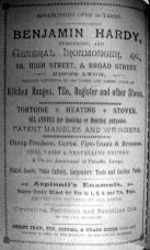1904 Sconces Almanack Benjamin Hardy