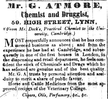1846 Dec 5th George Atmore