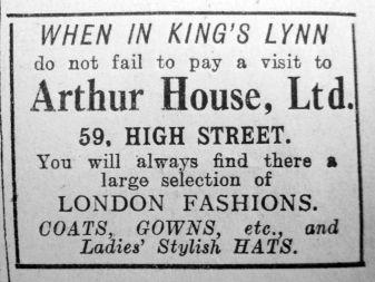 1925 Aug 21st Arthur House Ltd