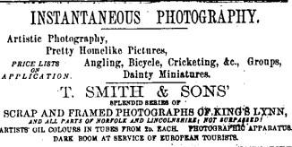 1889 Oct 9 Lynn News T Smith @ No 60
