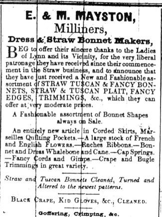 1843 June 20th E & M Mayston