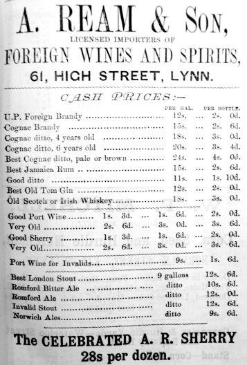 1883 Lynn News Almanack Ream