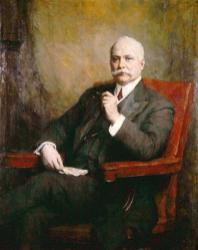 1911 Midland Bank Sir Edward Holden by Walter William Ouless