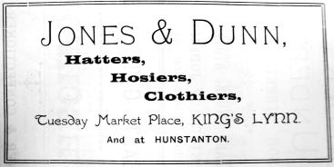 1904 Sconces Almanack Jones & Dunn