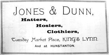 1904 Sconces Almanack Jones & Dunn