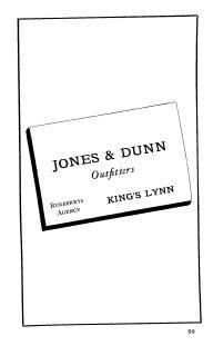 1924 Jones & Dunn (Holcombe Ingleby Treasures of Lynn)