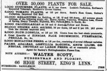 1896 April 11 Walter Scott @ No 66