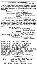 1886 Oct 23 R Bishop 69