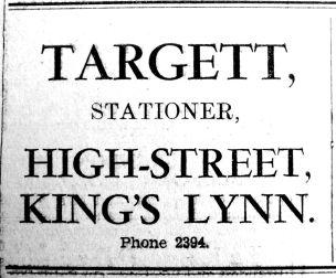 1937 Oct 1st Targetts