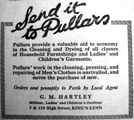 1920 Aug 27th G M Hartley