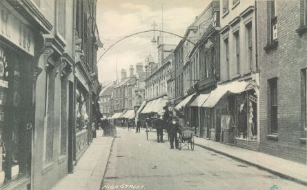 High St old pic South end (Trues Yard)