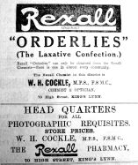 1914 May 15th Cockle
