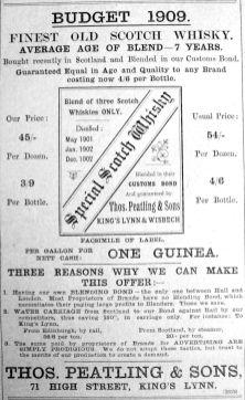 1909 June 25th Peatlings