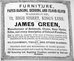 1856 Directory James Green (Lynn Forums)