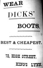 1904 Sconces Almanack Dicks