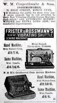1902 May 16th Couperthwaite Frister & Rossman