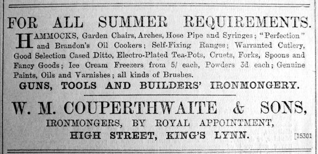 1904 Aug 5th Couperthwaite