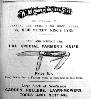 1926 Mar 19th Couperthwaite