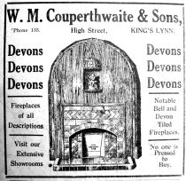 1929 Feb 8th W M Couperthwaite