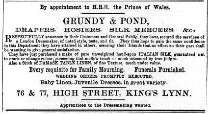 1876 Jan 8th Grundy & Pond