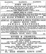 1888 Jan 7th Jewell Bros @ Nos 76 & 77