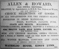 1900 Dec 7th Allen & Howard