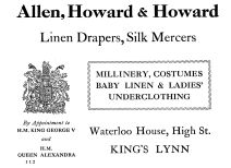 1924 Allen Howard & Howard @ 76 & 77 (Holcombe Ingleby Treasures of Lynn)