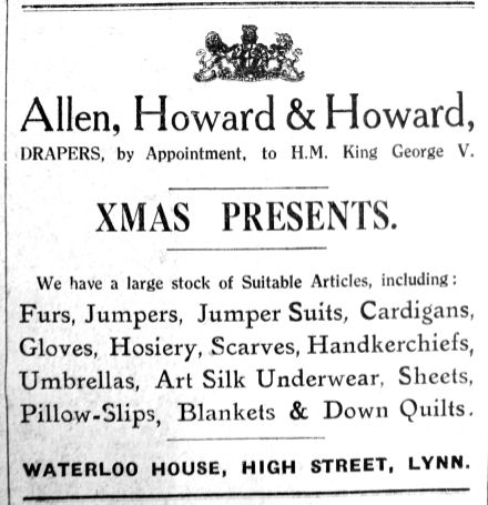 1927 Dec 16th Allen Howard & Howard