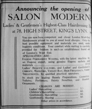 1933 Jan 6th Salon Moderne opens