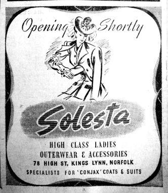 1946 Aug 30th Solesta opening