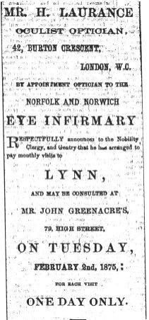 1875 Jan 23rd John Greenacre