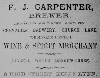 1904 Sconces Almanack F J Carpenter