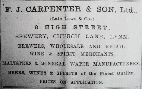 1913 Dec 12th F J Carpenter
