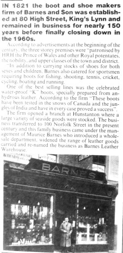1900s Barnes & Co (later newspaper article)