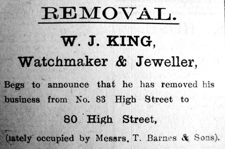 1923 Sept 21st W J King moves in