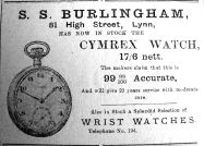 1921 July 22nd Burlingham