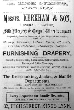 1884 Lynn News Almanack Kerkham