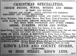 1899 Dec 22nd K L & County Stores