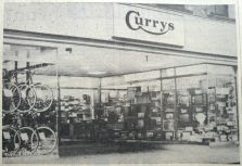 1963 May 14th Currys new shopfront