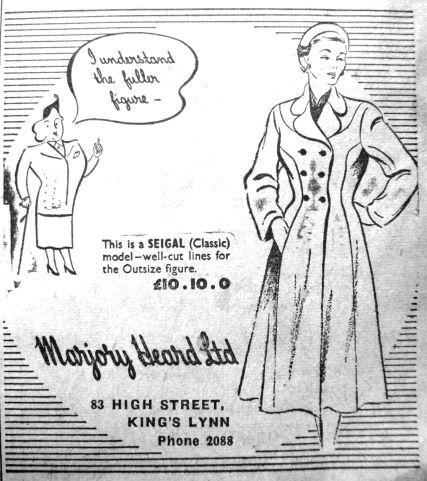 1951 Oct 5th Marjory Heard Ltd