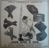 1933 Dec 15th John Rose & Son