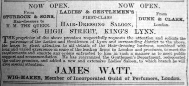 1900 June 1st James Watt opening