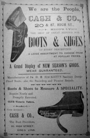 1905 Sconces Almanack Cash & Co